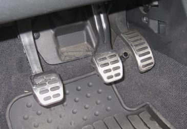 how to use pedal with powercraft